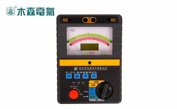 智能双显绝缘电阻测试仪(四档,吸收比)