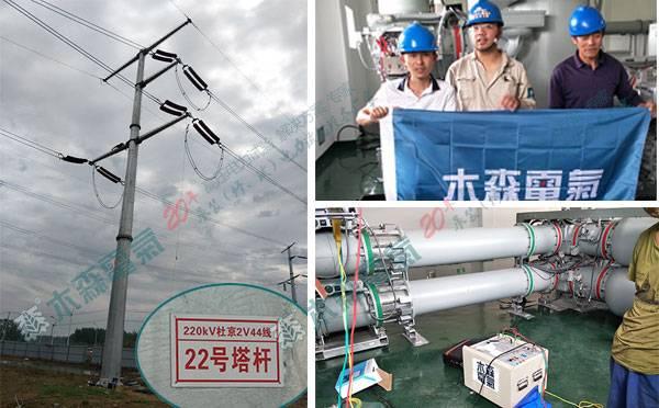 110kV输电线路工频参数测试数据探真