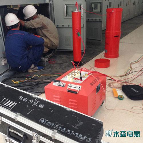 电压52kv,耐压时间5分钟,分别给两条电缆共6个电缆头做耐压试验.