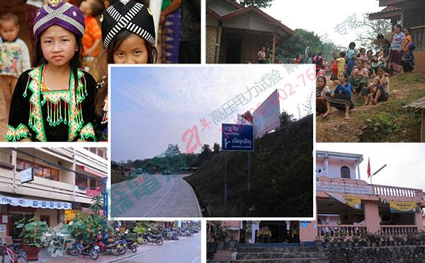 老挝变频串联谐振成套试验装置发货当地风情