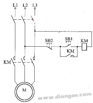 三相电动机的自锁控制