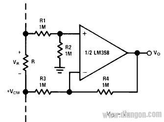 lm358典型应用电路图