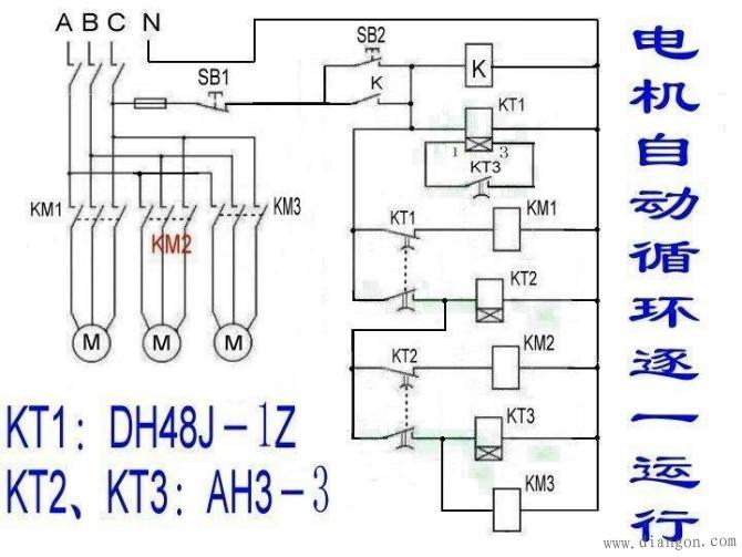 3 控制电机正反转 8 时间继电器控制双速电机 (这个很重要,也和简单