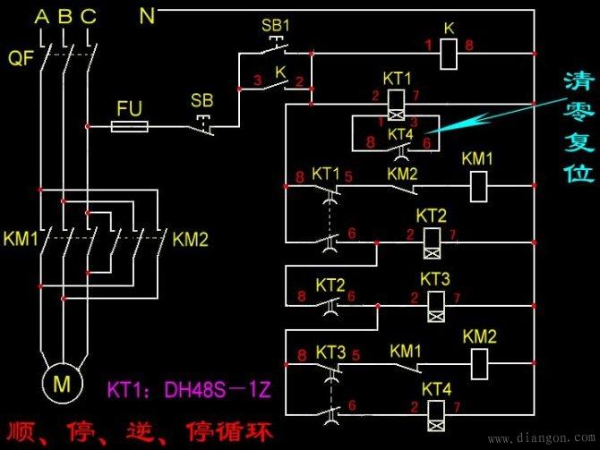 电动机接线图