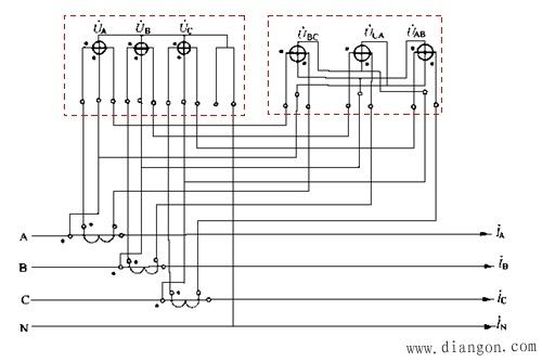 电能计量装置的整体接线