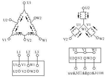 三相交流异步电动机的调速控制电路