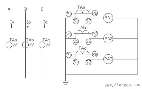 电流互感器的接线方式
