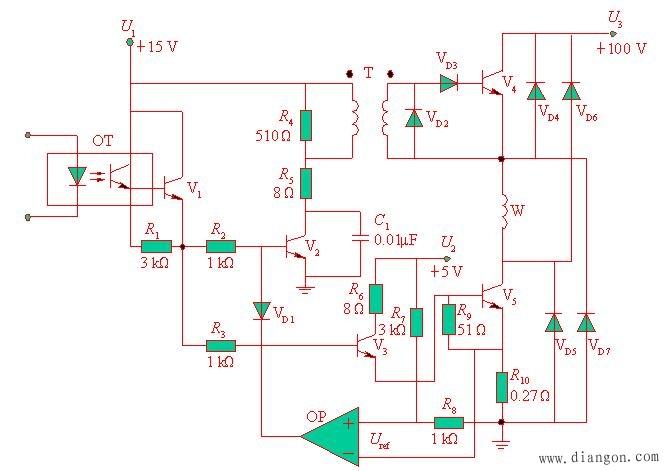 步进电动机的电枢通断电次数和各相通电顺序决定了输出角位移和运动方向,控制脉冲分配频率可实现步进电动机的速度控制。 因此,步进电机控制系统一般采用开环控制方式。 图1为开环步进电动机控制系统框图, 系统主要由环形分配器、 功率驱动器、 步进电动机等组成。