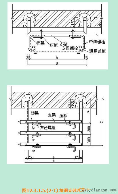 电缆桥架安装施工工艺
