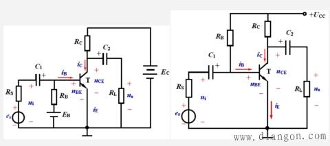 共发射极基本放大电路组成和各元件作用