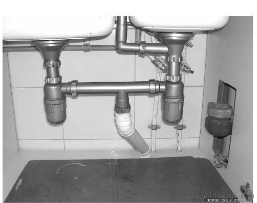 家装电路施工图解和厨房下水管如何安装 收藏多学学