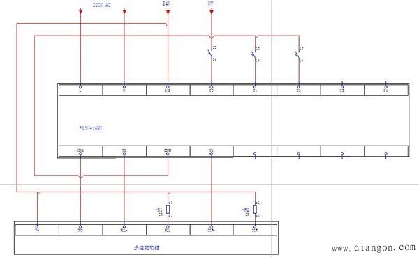 首页 行业知识 三菱plc控制步进电机实例   上图的接线为控制一台步进