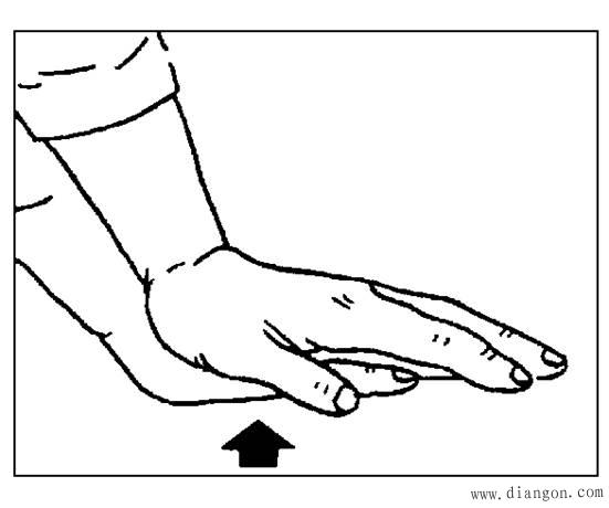 1到5根手指简笔画