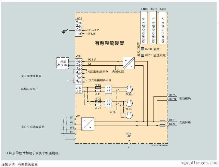 西门子变频器接线图