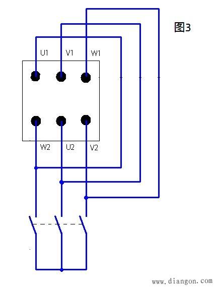 如果三角形接触器粘了,就起不了作用,所以建议,先让星形接触器先得电