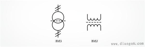 变压器电气符号