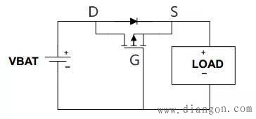 用MOS管防止电源反接的原理