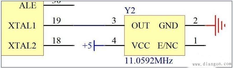 单片机最小系统电路设计