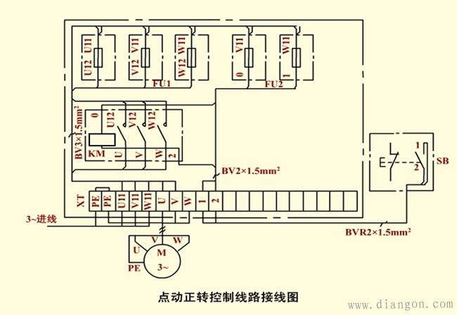 电气安装接线图是根据电气设备和电器元件的实际位 置,配线方式