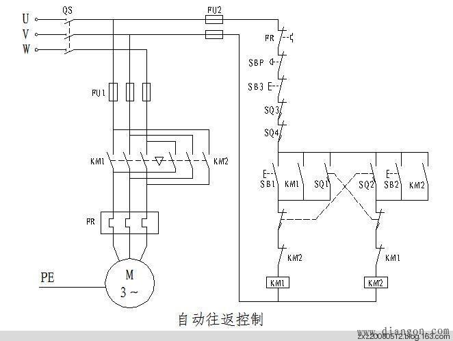 三菱PLC学习——自动往返控制的PLC程序 - 白鹰 - 电气技术中心