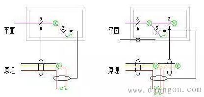照明电路接线图怎么看?照明电路接线图识图解