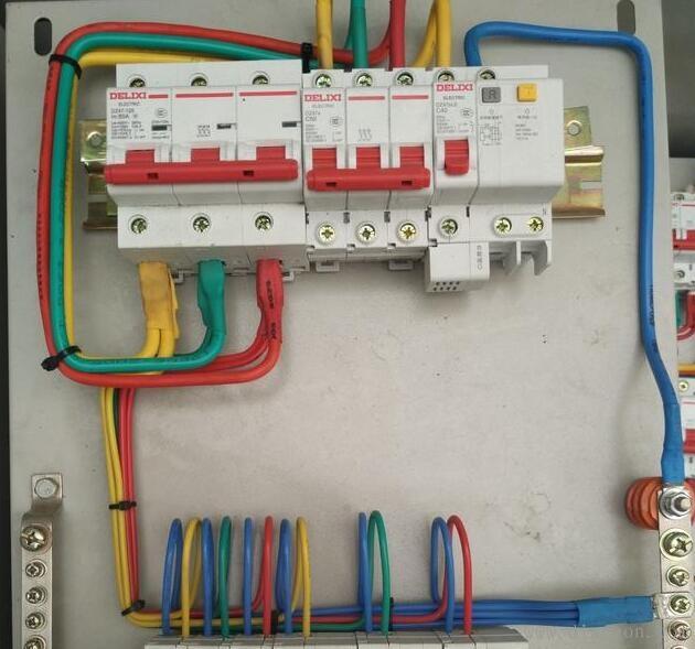 家用配电箱断路器安装接线方法图解