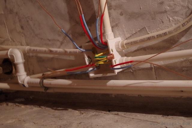 家装电路施工布线图解