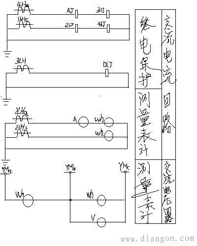 高压开关柜有哪些二次回路?怎样读二次回路接线图