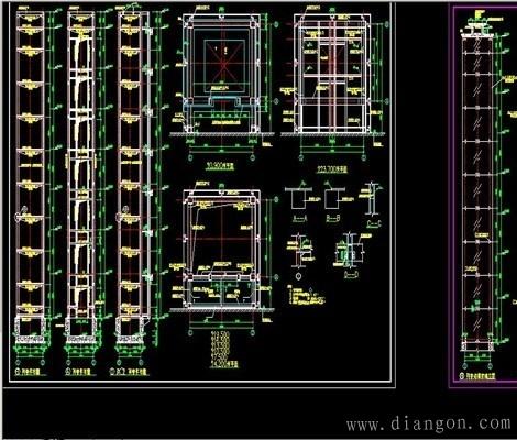 电梯结构与原理图解图片