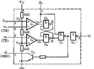 555定时器的电路结构与功能