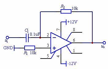 集成运算放大器的基本运算电路图片