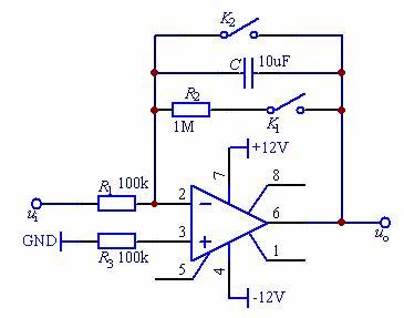 集成运算放大器的基本运算电路