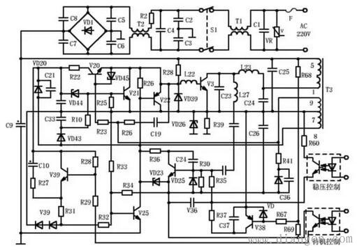 当输入交流电压低于110