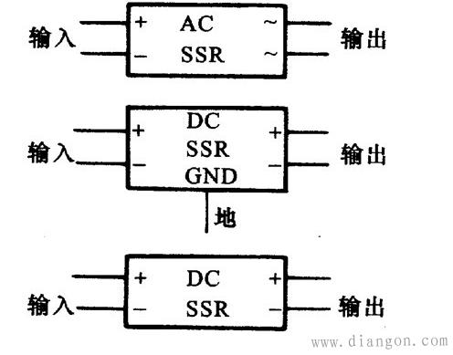固态继电器图形符号和文字符号