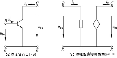 晶体管的微变等效电路