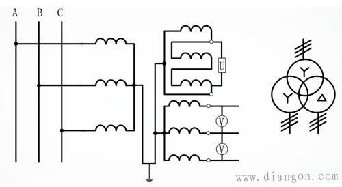 电压互感器接线图讲解