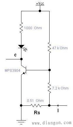 三极管电流检测电路