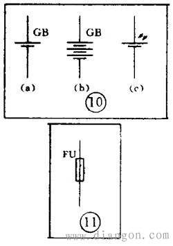 电子电路图中常出现的各种符号图解