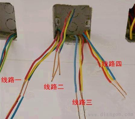 家用电线接法图解
