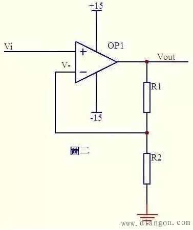 反相输入加法运算电路