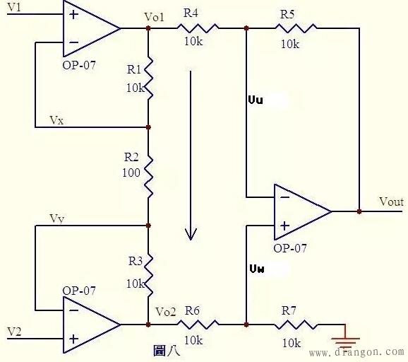 这是一个微分电路