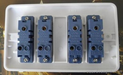开关插座安装接线方法图解