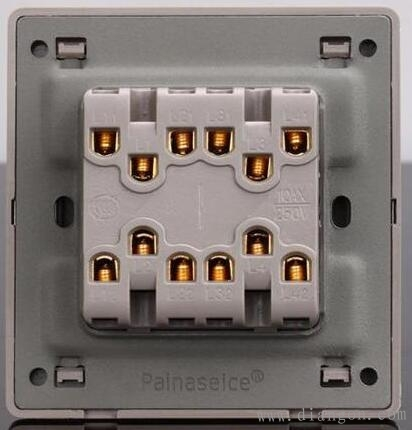 多地控制一盏灯开关安装接线方法图解图片