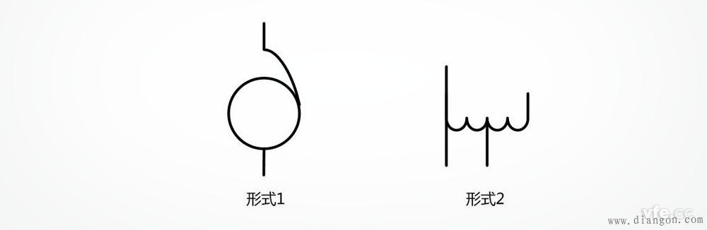 自耦变压器电气符号