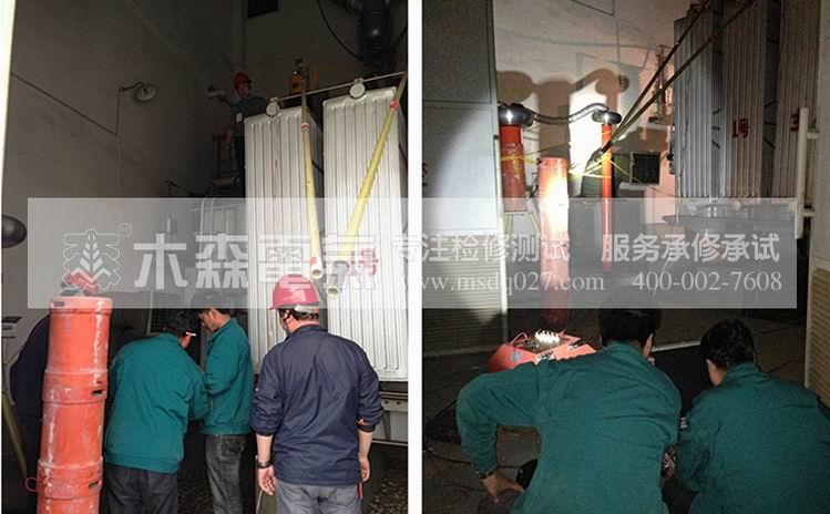黑龙江火力发电机交流耐压试验现场