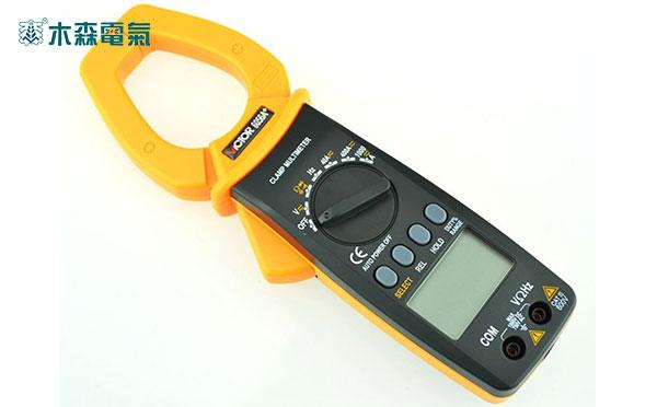 山东省承装(修、试)电力设施许可证承试五级试验设备MS-2001 钳形电流表