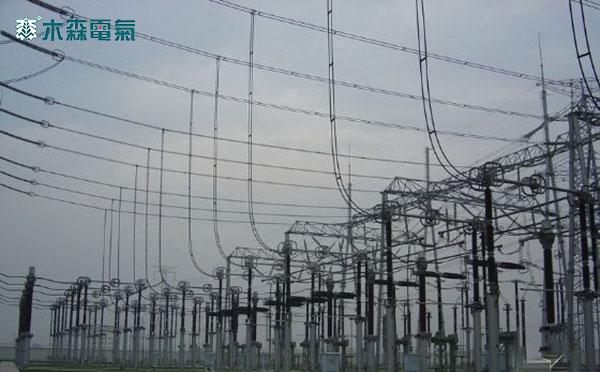 500kV变压器介损测试报告变电站外 景