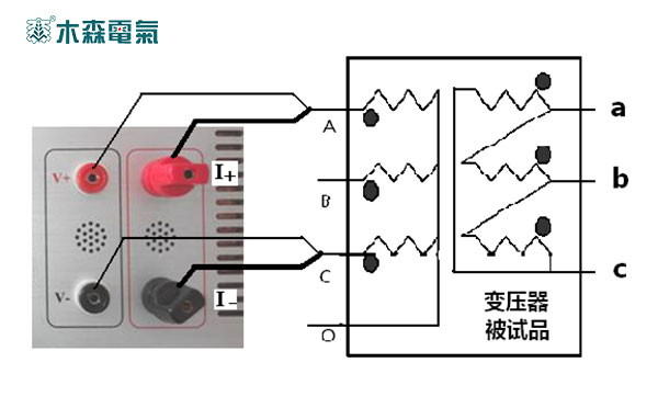 江西直流电阻测试仪操作步骤测量接线图