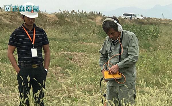 云南220kV电缆故障检测仪测试现场