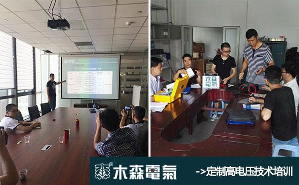 武汉市木森电气有限公司售后服务培训基地